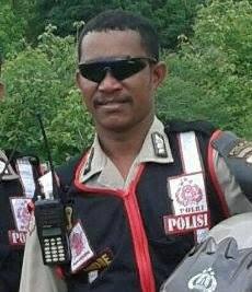 Zeth Blegur Anggota Polresta Kupang Kota Yang diduga mencabuli anak kandungnya